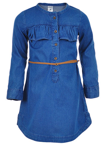 Carter's Girls' Belted Dress - CookiesKids.com