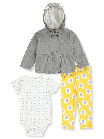 Carter's Baby Girls' 3-Piece Leggings Set Outfit - CookiesKids.com