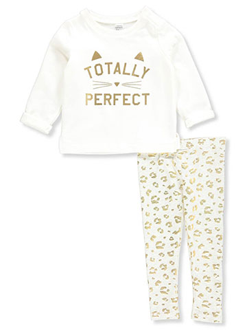 Carter's Baby Girls' 2-Piece Leggings Set Outfit - CookiesKids.com