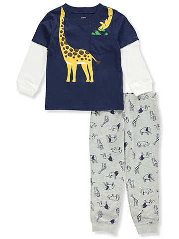 Carter's Boys' 2-Piece Pants Set Outfit - CookiesKids.com