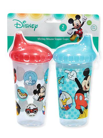 Disney Mickey Mouse 2-Pack Sipper Cups (10 oz.) - CookiesKids.com