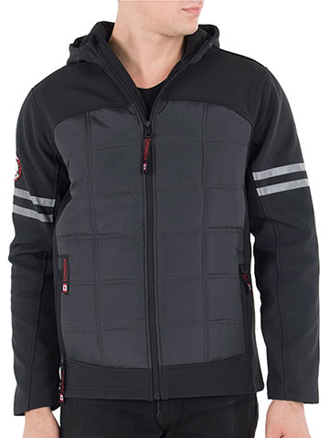 Canada Weather Gear Men's Hooded Jacket - CookiesKids.com
