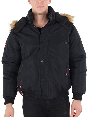 Canada Weather Gear Men's Insulated Jacket - CookiesKids.com