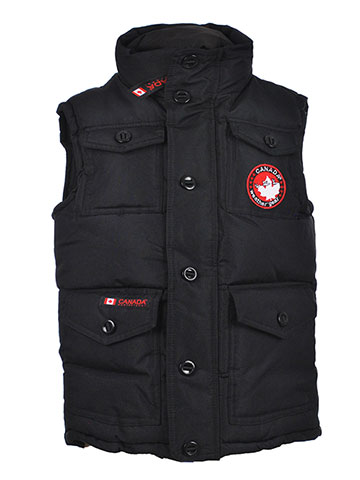 Canada Weather Gear Boys' Insulated Vest - CookiesKids.com