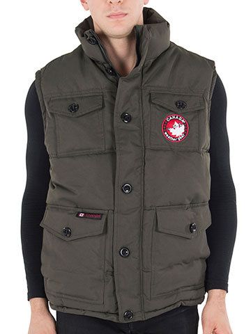 Canada Weather Gear Men's Insulated Vest - CookiesKids.com
