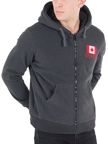 Canada Weather Gear Men's Fleece Jacket - CookiesKids.com