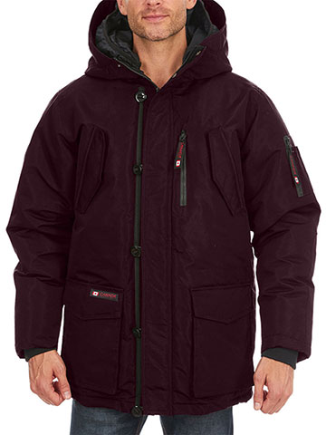 Canada Weather Gear Men's Insulated Parka - CookiesKids.com
