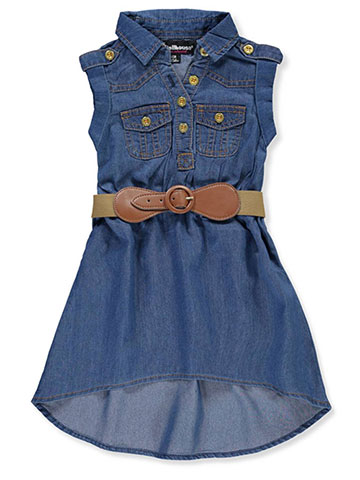 Dollhouse Girls' Belted dress - CookiesKids.com