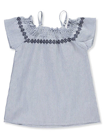 Dollhouse Girls' Cold Shoulder Top - CookiesKids.com