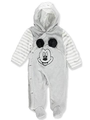 5e4230ead Disney Mickey Mouse Baby Boys' Hooded Pram Suit - CookiesKids.com