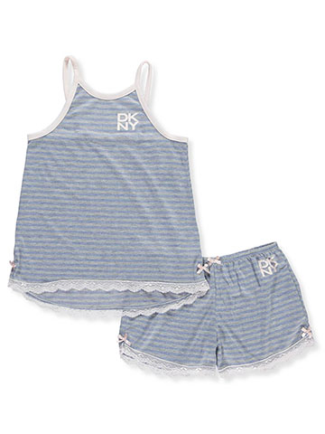 DKNY Girls' 2-Piece Pajama Short Set - CookiesKids.com