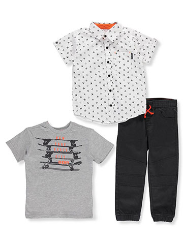 DKNY Boys' 3-Piece Pants Set Outfit - CookiesKids.com