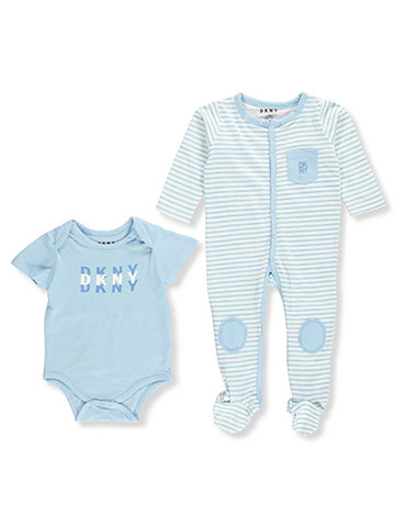 DKNY Baby Boys' 2-Piece Layette Set - CookiesKids.com