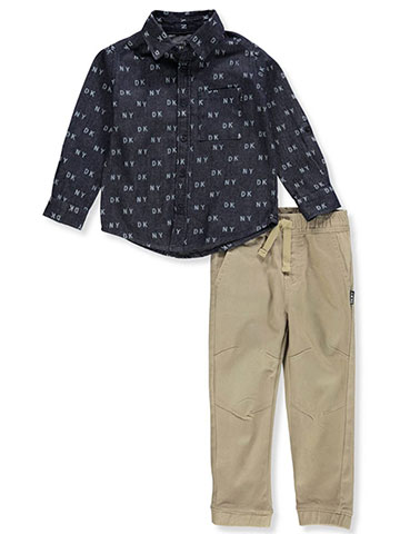 DKNY Boys' 2-Piece Pants Set Outfit - CookiesKids.com