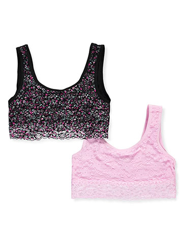 XOXO Girls' 2-Pack Seamless Bralettes (Sizes 30 – 36) - CookiesKids.com