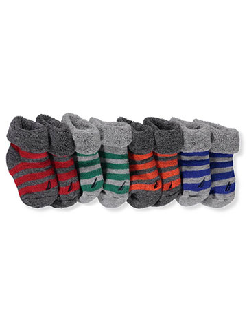 Nautica Baby Boys' 4-Pack Booties - CookiesKids.com