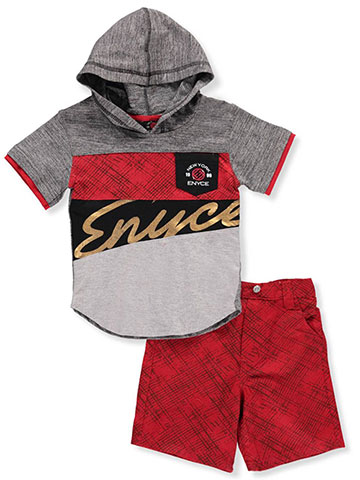 Enyce Baby Boys' 2-Piece Short Set Outfit - CookiesKids.com