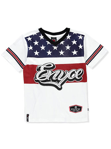 Enyce Boys' V-Neck T-Shirt - CookiesKids.com