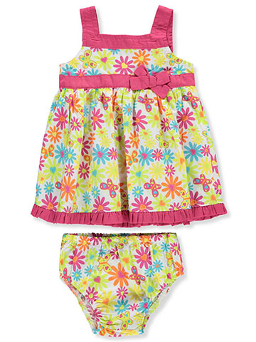 Sweet Baby Girls' Dress with Diaper Cover - CookiesKids.com