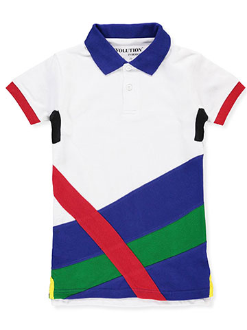 Evolution In Design Boys' Pique Polo - CookiesKids.com