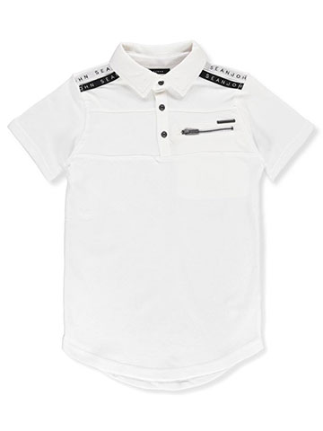 Sean John Boys' Pique Polo Shirt - CookiesKids.com
