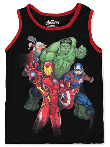 Avengers Boys' Tank Top - CookiesKids.com