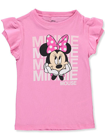 Disney Girls' Minnie Mouse T-Shirt - CookiesKids.com
