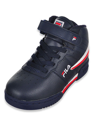 Fila Boys' F-13 Hi-Top Sneakers (Sizes 6 – 10) - CookiesKids.com