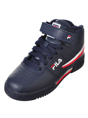 Fila Boys' F-13 Hi-Top Sneakers (Sizes 11 – 2) - CookiesKids.com