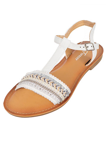 Forever Girls' Sandals (Sizes 6 – 10) - CookiesKids.com