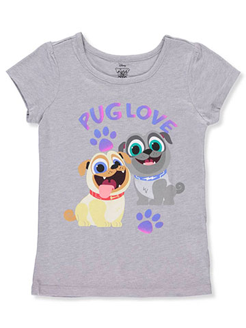 Disney Puppy Dog Pals Girls' T-Shirt - CookiesKids.com