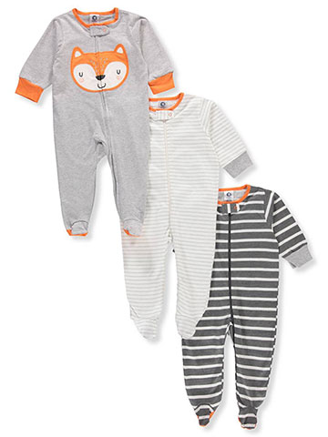 Gerber Baby Boys' 3-Pack Footed Coveralls - CookiesKids.com