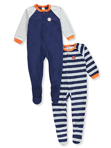 Gerber Baby Boys' 2-Pack 1-Piece Footed Pajamas - CookiesKids.com