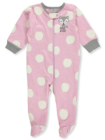 Onesies Baby Girls' Footed Coverall - CookiesKids.com