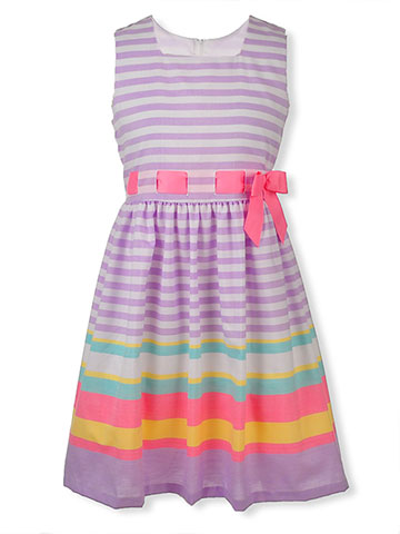 Bonnie Jean Big Girls' Plus Size Dress - CookiesKids.com