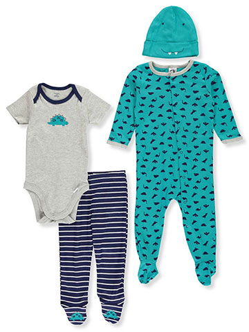 Gerber Baby Boys' 4-Piece Layette Set - CookiesKids.com