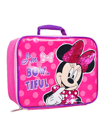 Disney Minnie Mouse Insulated Lunchbox - CookiesKids.com