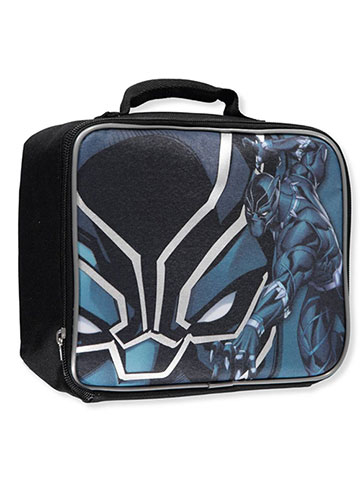 Black Panther Insulated Lunchbox - CookiesKids.com