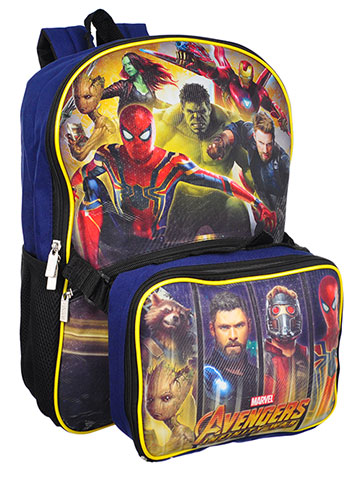 Avengers Backpack with Insulated Lunchbox - CookiesKids.com