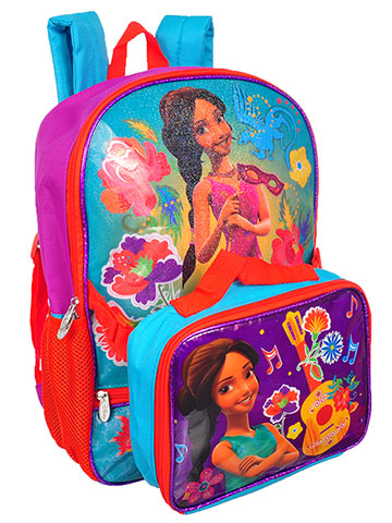 Disney Elena of Avalor Backpack with Insulated Lunchbox - CookiesKids.com