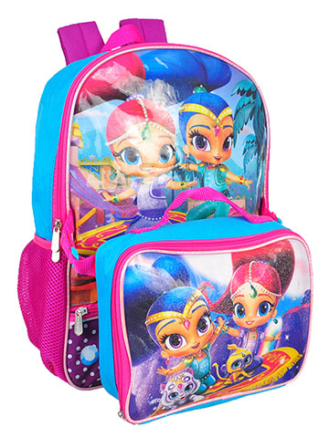 Shimmer and Shine Backpack with Insulated Lunchbox - CookiesKids.com