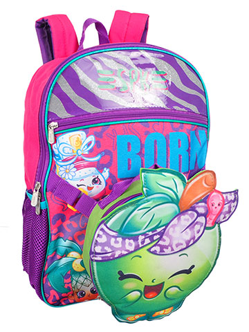 Shopkins Backpack with Insulated Lunchbox - CookiesKids.com