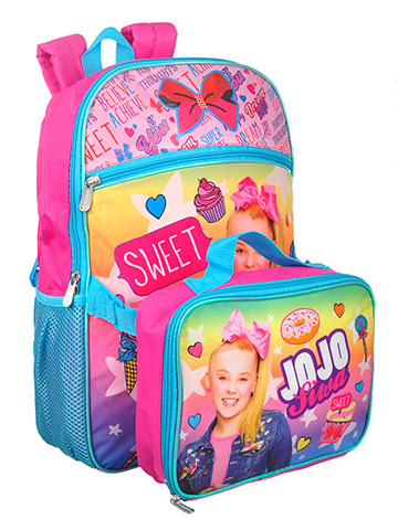 Jojo Siwa Backpack with Insulated Lunchbox - CookiesKids.com