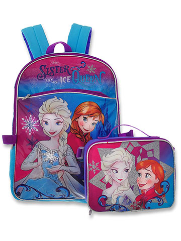 cb556576ea Disney Frozen Backpack with Insulated Lunchbox - CookiesKids.com
