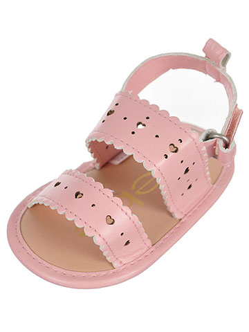 Bebe Baby Girls' Sandal Booties - CookiesKids.com