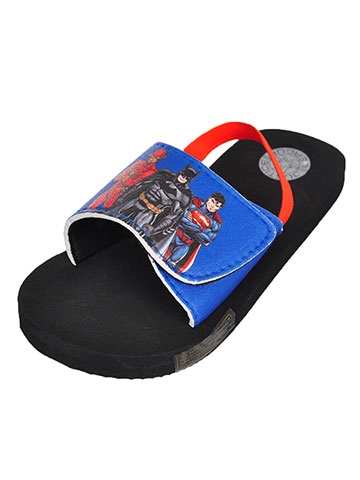 Justice League Boys' Sandals (Sizes 5 – 10) - CookiesKids.com
