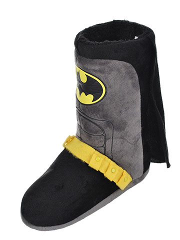 Batman Boys' Hi-Top Slippers (Youth Sizes S – XL) - CookiesKids.com