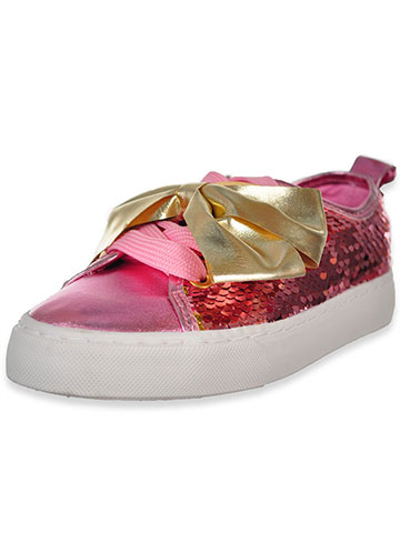 Jojo Siwa Girls' Low-Top Sneakers (Sizes 12 – 4) - CookiesKids.com