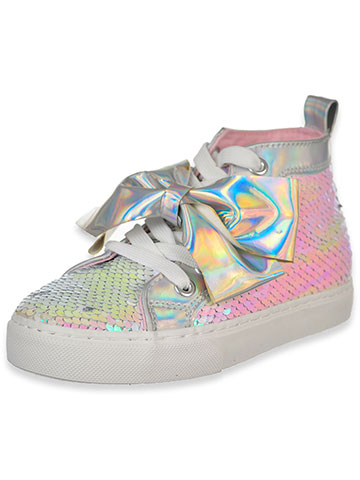 Jojo Siwa Girls' Hi-Top Sneakers (Sizes 12 – 4) - CookiesKids.com