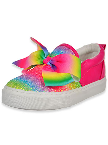 Jojo Siwa Girls' Slip-On Sneakers (Sizes 12 – 4) - CookiesKids.com